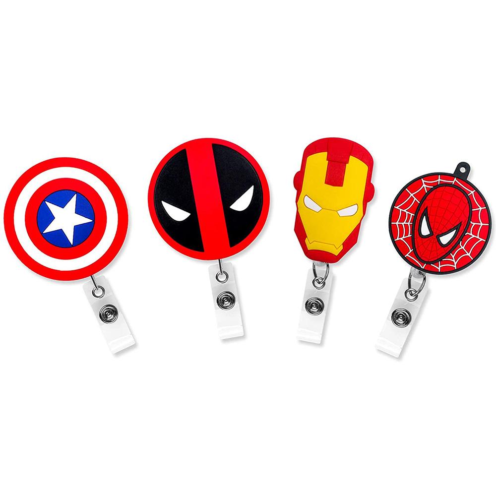 Captain America Shield Badge Reel